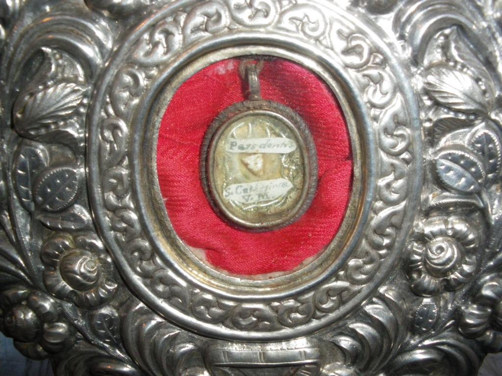 Reliquia di Santa Caterina d'Alessandria (dente)