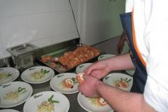 Preparazione della Cena di Gala