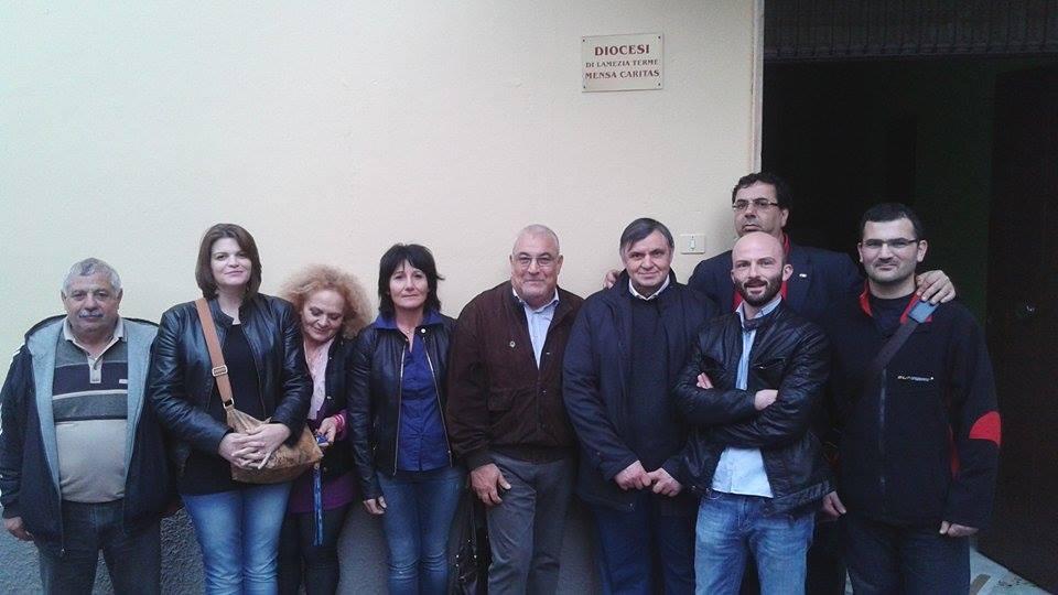 A.Mungo-C.Donato-S.ra Carmela-MS.Taverniti-F.Galati-F.Talarico-D.Tropea-L.Caligiuri-A.Godino